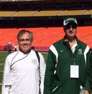 Lee and Me at Arrowhead for NW vs Pitt